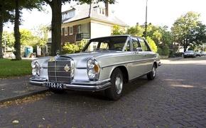 Картинка Mercedes-Benz, автомобиль, раритет, 280S, Мерседе́с-Бенц