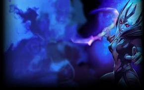 Картинка steam, Dota 2, Фон профиля, Vengeful Spirit