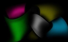 Картинка цвета, линии, лента