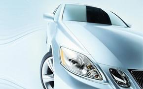 Обои Lexus, авто, Фара, колесо