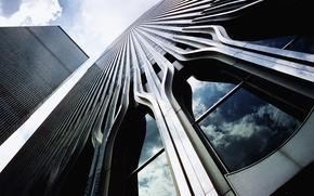 Обои Всемирный торговый центр, WTC, World Trade Center, небоскребы, нью-йорк