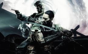 Картинка Call of Duty, awakening, dlc, takeo, black ops 3, Nikolai