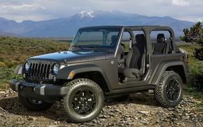 Картинка внедорожник, автомобиль, Wrangler, Jeep