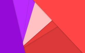 Картинка линии, красный, сиреневый, розовый, текстура, material