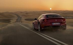 Картинка Ferrari, 2011, V12, GT sports car concept