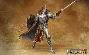 Картинка арт, art, герои меча и магии 7, Might & Magic 7, Альянс Света, Юстициар