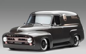 Картинка Классика, Автомобиль, Panel Truck, Ford FR100