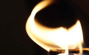 Картинка огонь, спичка, Flame