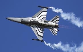 Картинка истребитель, Fighting Falcon, многоцелевой, F-16AM