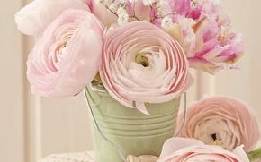 Картинка розы, vintage, flower, style, pink, винтаж, bouquet, roses