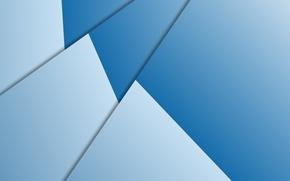 Картинка белый, линии, абстракция, голубой, текстура, геометрия