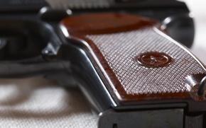 Картинка Пистолет, СССР, звездочка, рукоять, системы Макарова