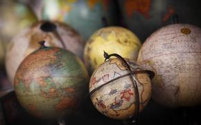 Картинка мир, карта, глобусы