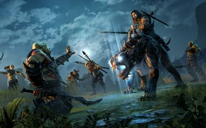 Картинка Warrior, Beast, Video Game, Orcs, Warner Bros. Interactive Entertainment, Monolith Productions, Middle-earth: Shadow of Mordor, …