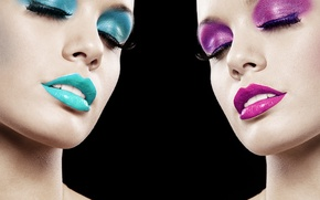Обои colors, makeup, model, style, sexy