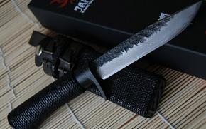 Обои холодное оружие, нож, чехол, япония