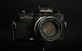 Картинка макро, фон, камера, Minolta SRT 303