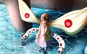 Картинка девочка, anime, art, токийский гуль, tokyo ghoul, hinami fueguchi