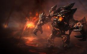 Картинка Obsidian Malphite, Малфит, Malphite, League of Legends