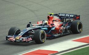 Картинка 2008, Formula 1, Vettel, Toro Rosso