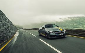 Обои Mercedes-Benz, Coupe, C-Class, мерседес, AMG, C205