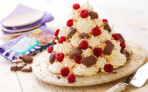 Картинка малина, еда, шоколад, торт, пирожное, cake, крем, десерт, food, сладкое, chocolate, cream, dessert, raspberries
