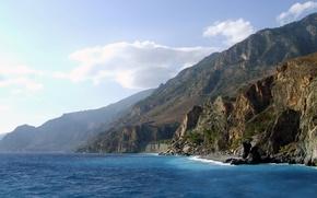 Обои море, берег, скалы