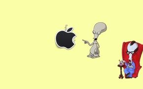 Картинка Apple, Mac, Роджер, Американский Папаша