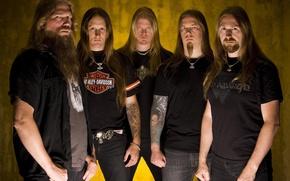 Amon Amarth, группа, металл, викинги, мелодичный дэт-метал, стиль Викинг метал обои