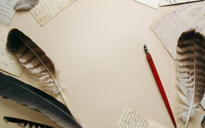 Картинка pen old pen, paper, pens