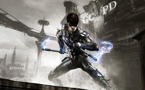 Картинка Взгляд, Свет, Оружие, Маска, Batman, DLC, Готэм, Найтвинг, Экипировка, Warner Bros. Interactive Entertainment, Rocksteady Studios, …