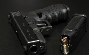 Картинка оружие, макро, Glock 21, пистолет