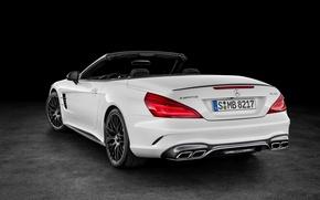 Картинка белый, Mercedes-Benz, кабриолет, мерседес, AMG, амг, R231, SL-Class