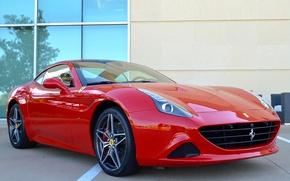 Картинка Ferrari, Red, California