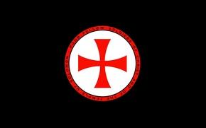 Картинка red, black, soldiers, cross, knight, crusader, temple, latin, Christ, knight Templar, cattolic, Solomon