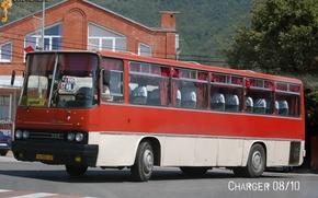 Картинка транспорт, автобус, Икарус