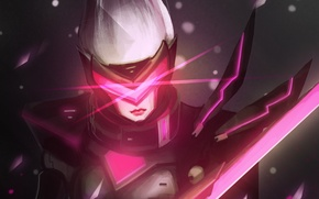 Обои fan art, Grand Duelist, Project Fiora, League of Legends, Fiora