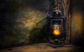 Картинка фонарь, древность, гвоздь, The lantern