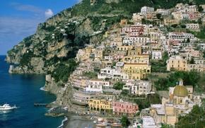 Обои Amalfi, Italy, Campania, Coast