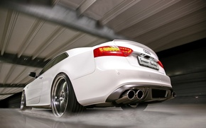 Обои белый, вода, Audi, брызги