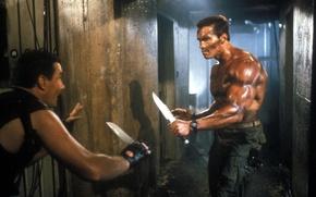 Обои Arnold Schwarzenegger, Commando, Коммандос, Арнольд Шварценеггер, John Matrix
