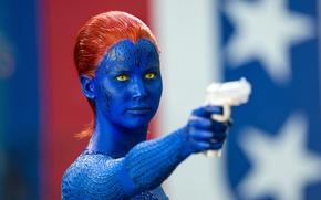 Картинка Mystique, Jennifer Lawrence, Люди Икс, Дни минувшего будущего