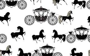 Картинка Лошадь, Сказка, Карета