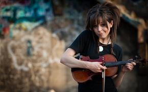 Обои милаха, Линдси Стирлинг, Lindsey Stirling, скрипка, Violin