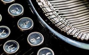 Картинка макро, Abandoned, Typewriter