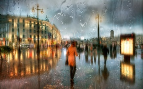 Картинка дождь, весна, Апрель, Санкт-Петербург