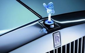 Картинка Rolls-Royce, решетка, эмблема