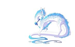 Картинка дракон, арт, mythka, fantasy