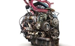 Обои Двигатель, старый