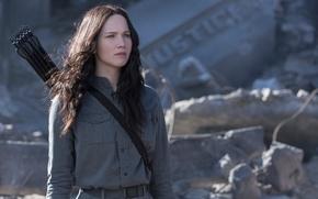Картинка Jennifer Lawrence, Katniss, The Hunger Games:Mockingjay, Голодные игры:Сойка-пересмешница